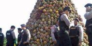Uniknya Sedekah Bumi dengan 'Gunung Durian' di Sumberjambe -Jember